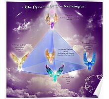 Archangel Pyramid Poster
