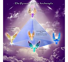 Archangel Pyramid Photographic Print