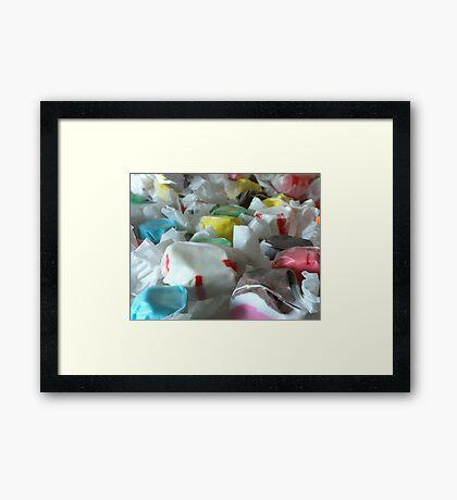 Saltwater Taffy Framed Print