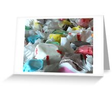 Saltwater Taffy Greeting Card
