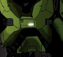 Spartan II Mjolnir mk V Sticker
