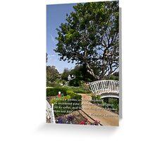 Children's Garden Greeting Card