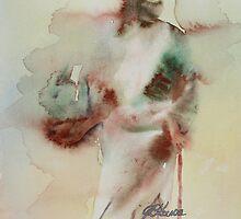Woman in The Road by Joyce Ann Burton-Sousa