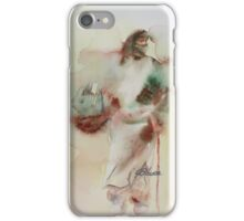 Woman in The Road iPhone Case/Skin