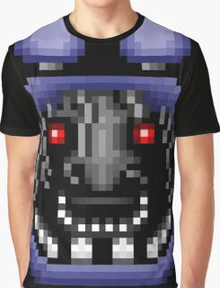 Five Nights at Freddy's 2 - Pixel art - Faceless Bonnie Graphic T-Shirt