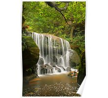 Blue Mountains waterfall Poster