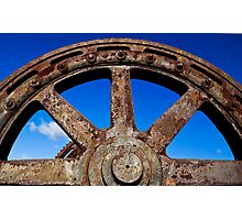 Steel and Rust #2 Photographic Print