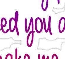 Meredith Cristina brave Sticker