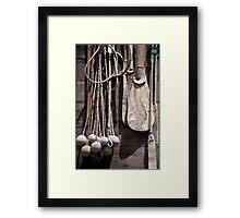 Gaucho Goodies Framed Print