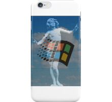 Swan Song (TShirt) iPhone Case/Skin