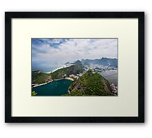 Riding High in Rio Framed Print