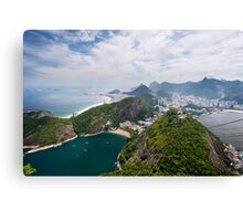 Riding High in Rio Canvas Print
