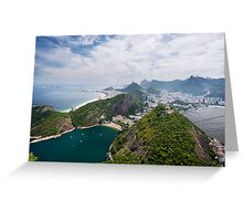 Riding High in Rio Greeting Card