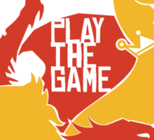 Play The Game Sticker