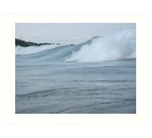 Surfs up in Whitefish Bay Wisconsin Img 406 Art Print