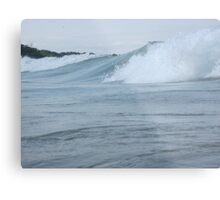 Surfs up in Whitefish Bay Wisconsin Img 406 Metal Print