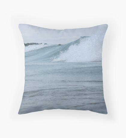 Surfs up in Whitefish Bay Wisconsin Img 406 Throw Pillow