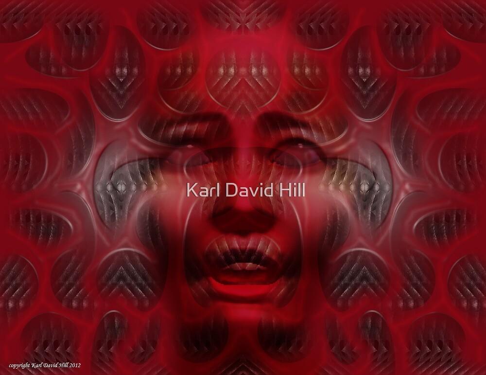Rebirth (Abiogenesis dreaming 002) by Karl David Hill