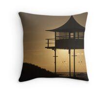 Baywatch Tower Throw Pillow
