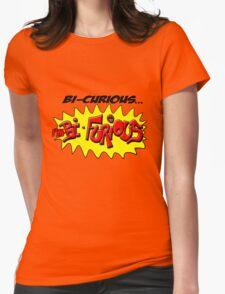 Scott Pilgrim VS The World - Bi- Curious...I'm Bi- Furious Womens Fitted T-Shirt