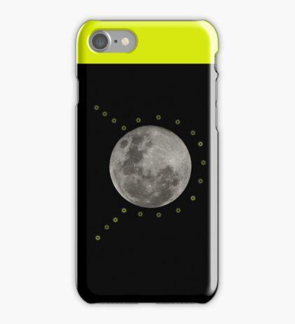 Retro Moon shot iPhone Case/Skin