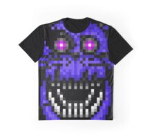 Five Nights at Freddys 4 - Nightmare Bonnie - Pixel art Graphic T-Shirt