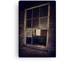 window, Coolongolook NSW Canvas Print
