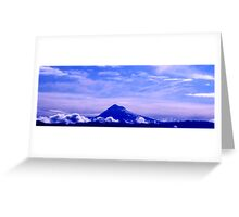 Mount Hood just before Sunrise Greeting Card