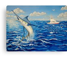 Marlin Canvas Print