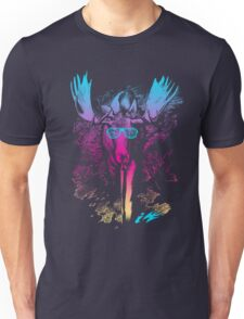 Hipster Moose Unisex T-Shirt