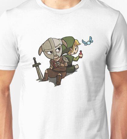 Skyim-Legend of Zelda Unisex T-Shirt