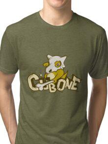 Pewter City Cubone Tri-blend T-Shirt