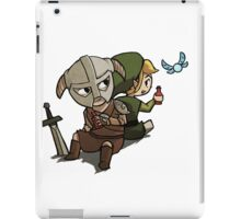 Skyim-Legend of Zelda iPad Case/Skin