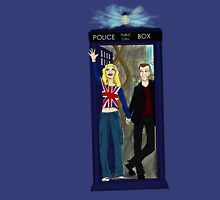 Nine and Rose Meet the Universe Unisex T-Shirt