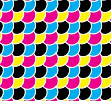 C Fish M Fish Y Fish K Fish Sticker