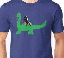 Ride that Dino Honey Badger! Unisex T-Shirt