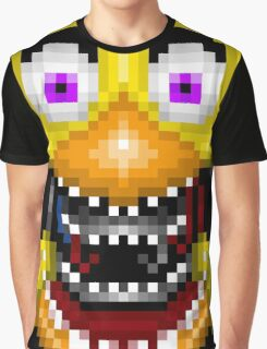 Five Nights at Freddy's 2 - Pixel art - Withered Old Chica Graphic T-Shirt