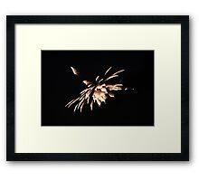 """Fire Works 4""  by Carter L. Shepard Framed Print"