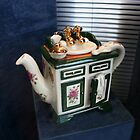 Bathroom Vanity Teapot by Marilyn Harris