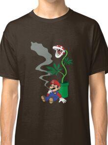 Super Pothead Mario Classic T-Shirt