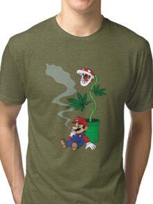 Super Pothead Mario Tri-blend T-Shirt