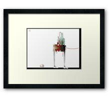 still life. glass Framed Print