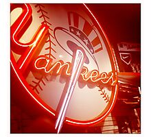 Yankees New York Photographic Print