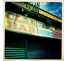 Coney Island Clam Bar Photographic Print