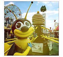 Bee Ride Coney Island Photographic Print