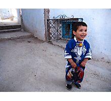 Little Boy Blue Photographic Print