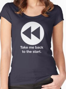 Take Me Back to the Start Women's Fitted Scoop T-Shirt