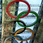 Olympic Symbol  by Karen Martin