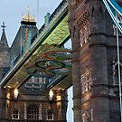 Olympic Symbol on Tower Bridge by Karen Martin IPA