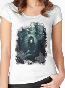 Burial At Sea Women's Fitted Scoop T-Shirt